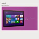 Actualizarea la Windows 8.1 de la Windows 8