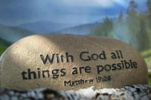 Cu Dumnezeu totul e posibil